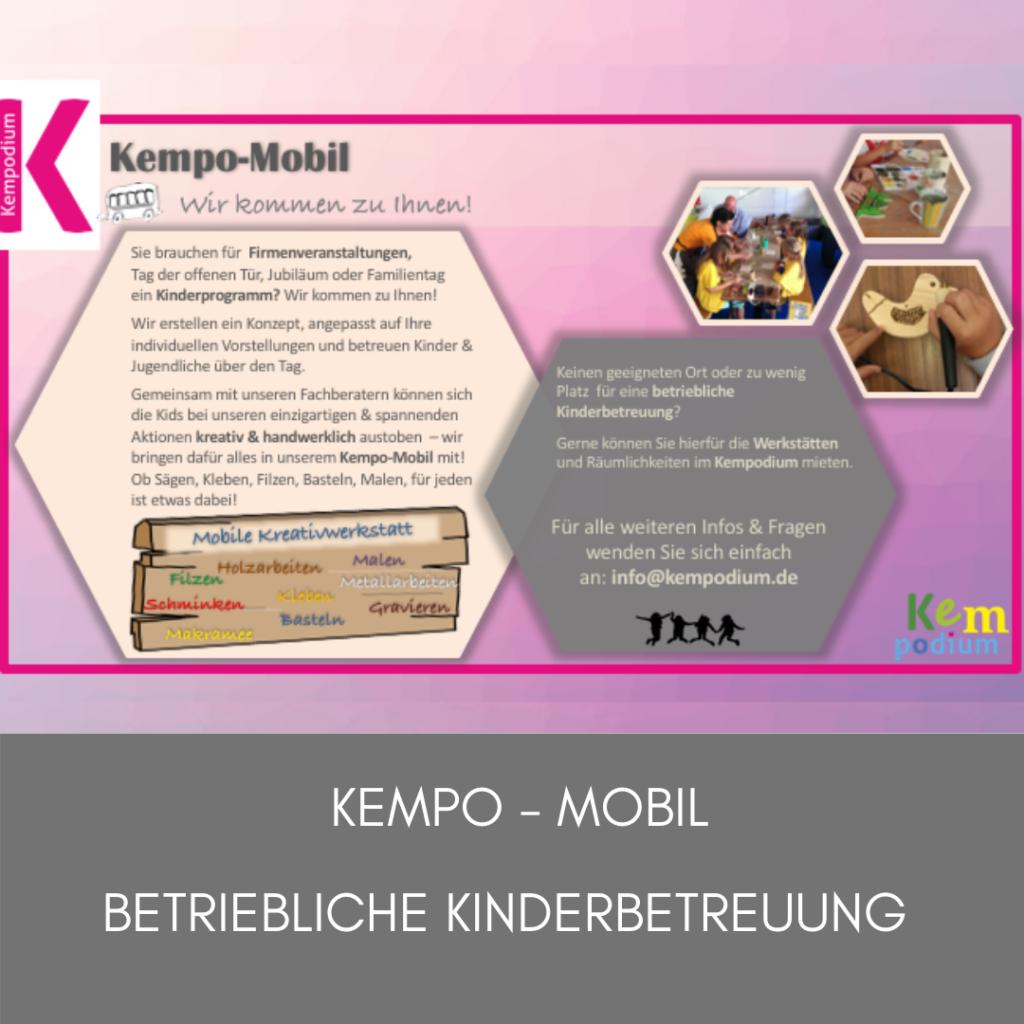 Kempodium Flyer - mobil